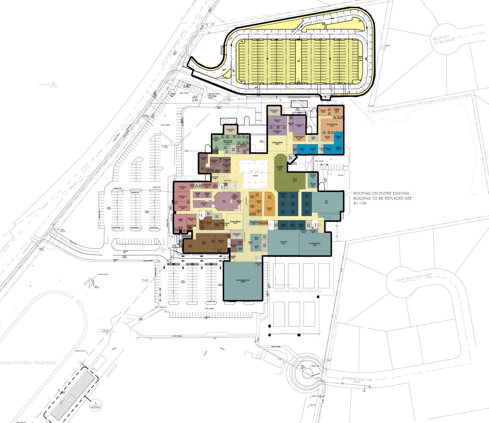 Parkway North High School Campus Wide Master Plan