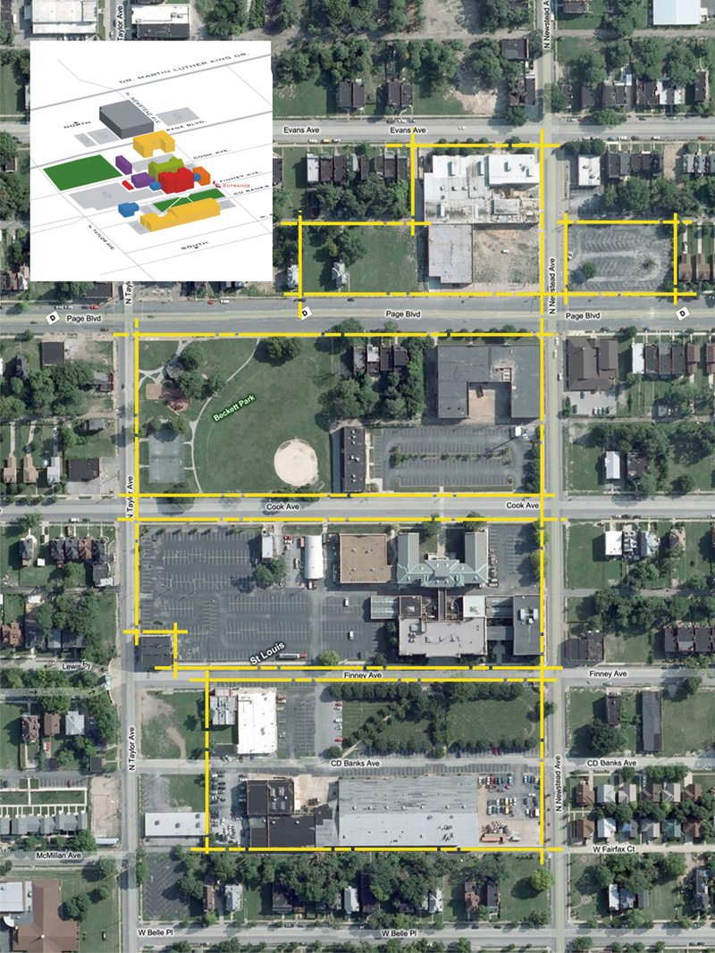 Ranken Technical College - Campus Wide Master Plan